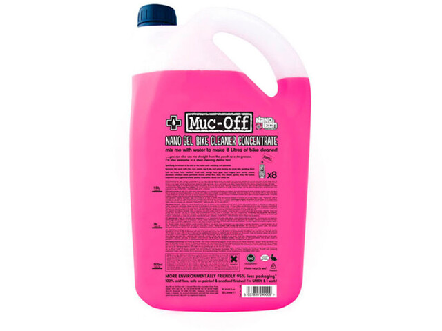 Muc-Off Bike Cleaner Concentrate Nano Gel 5 L pink (2019) | polish_and_lubricant_component